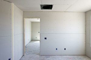 Interior of Room Construction with Drywall